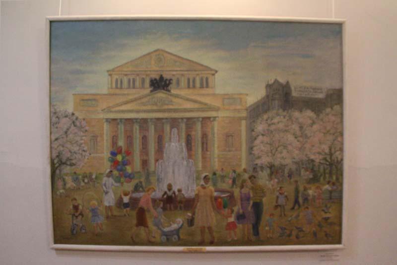Выставка Елены Бебутовой и Павла Кузнецова открылась в Доме художника