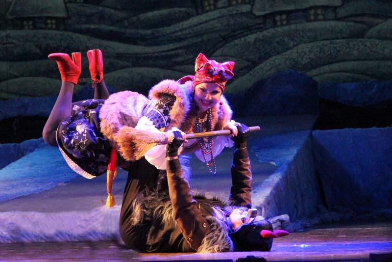 В театре оперетты поставили «Ночь перед Рождеством» по-бродвейски