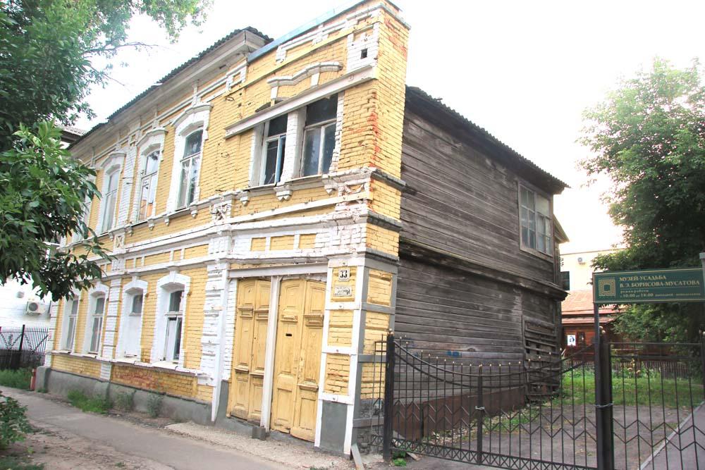 Дом, в котором жил Борисов-Мусатов, передадут Радищевскому музею