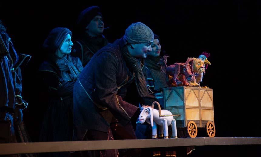 Спектакли Саратовского театра кукол «Теремок» собрали аншлаги в Архангельске
