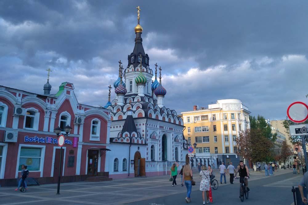 Волжская. Церковь Утоли моя печали