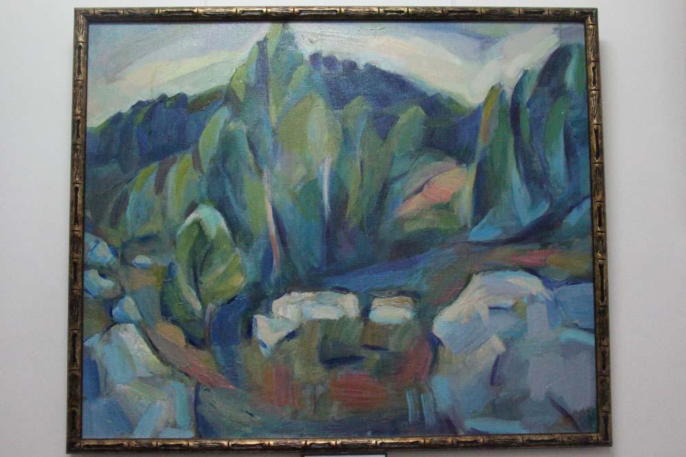 В музее Борисова-Мусатова открылась выставка Светланы Лопуховой
