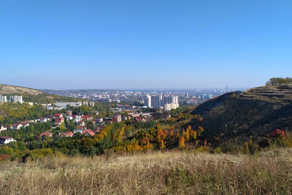Обзорная площадка в Смирновском ущелье