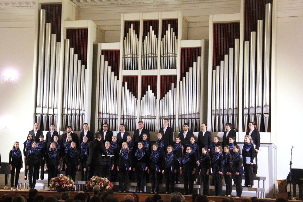 В консерватории отметили 75-летие кафедры дирижирования