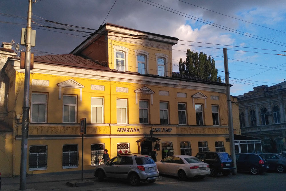 Дом с мезонином С.И. Барцева