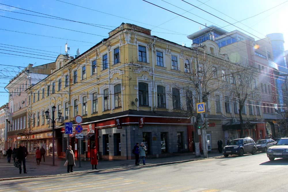 Здание гостиницы «Европа»