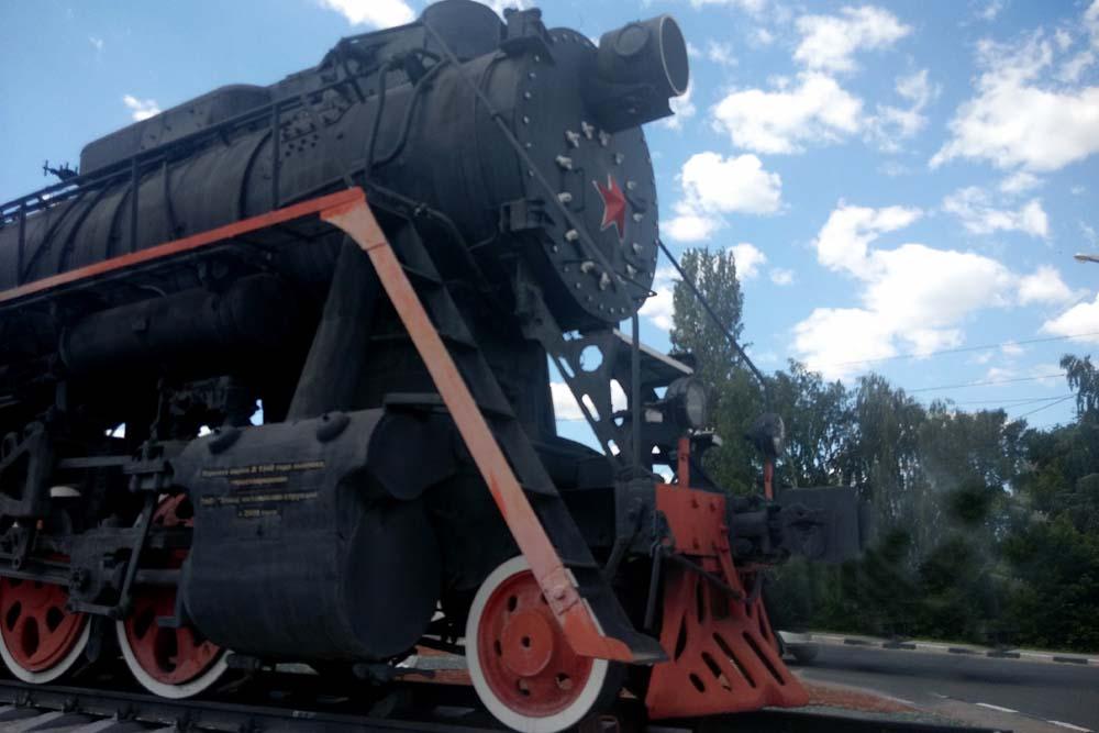 Паровоз серии Л-1578
