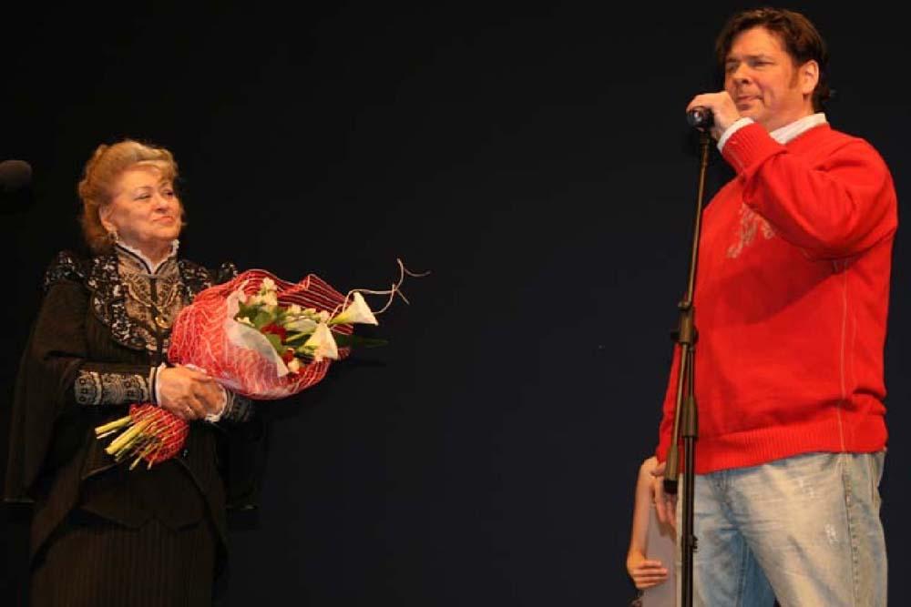 Римма Белякова и Денис Банников
