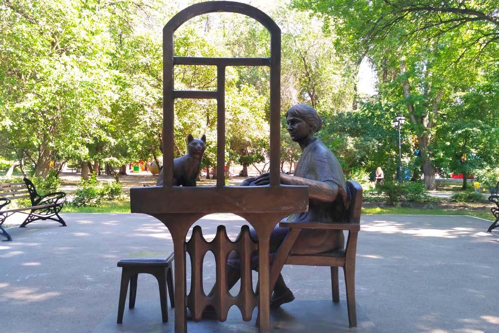 Памятник Позвони матери