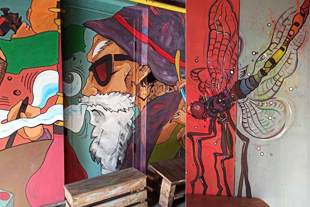 Граффити с Чеховым