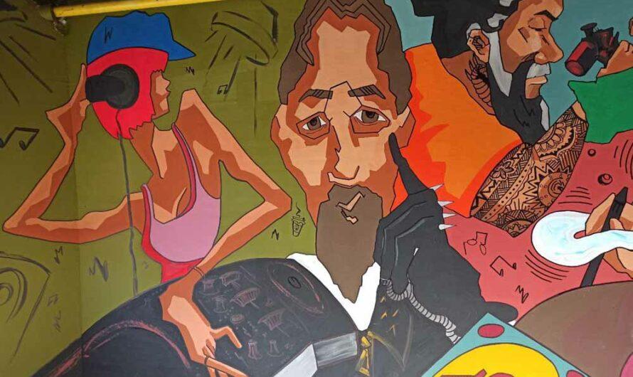Арка с граффити Чехов