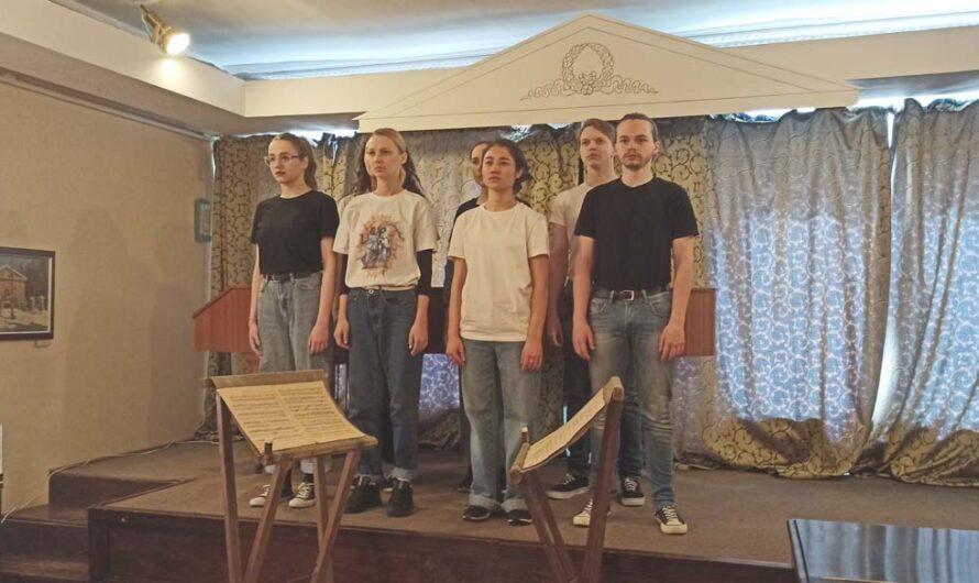 В День театра в музее Чернышевского прозвучали Гомер и Бродский
