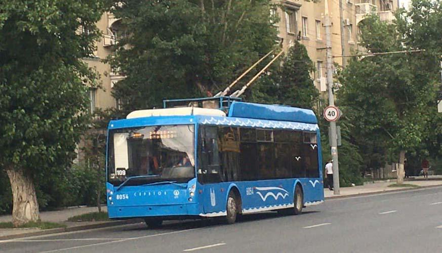Троллейбус 109 Саратов-Энгельс