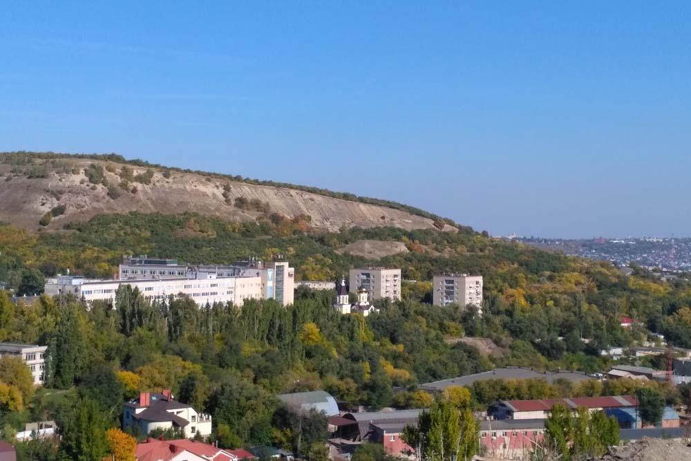 Обзорная площадка на Новоузенской