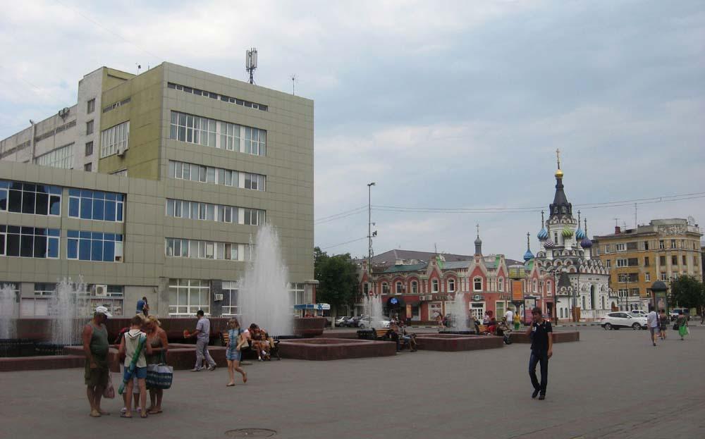 Фонтан Мелодия. Саратов-2012